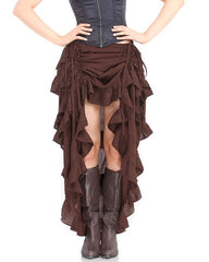 Women's Steampunk Skirts and Bustles