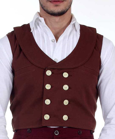 The Steampunk Gentlemens All-Purpose Little Brown Vest