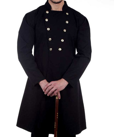 19th Century Simple Coat Steampunk Gentlemens Daily Mens Jacket - Victorian Foundry