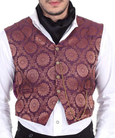 Airship Commanders Luxury Smoking Petticoat Steampunk Mens Vest - Victorian Foundry