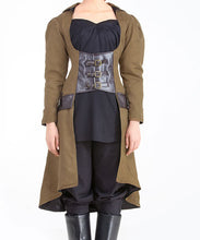 Ladies Steampunk Adventurers Best Coat Womens Adventurers Jacket - Victorian Foundry