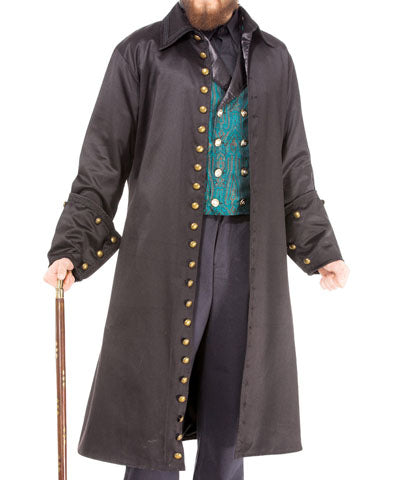 Mens Hot Air Balloon Tailcoat for Airship Captain