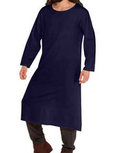 Simple Mens Gentlemens Steampunk Tunic Medieval Top Victorian Shirt - Victorian Foundry