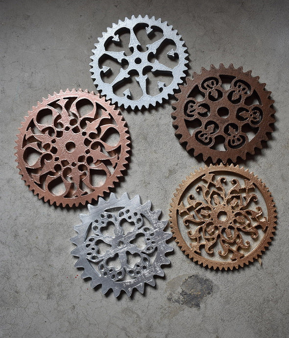 Huge Intricate Large Steampunk Gears. Steam Punk Fancy Gears Victorian Gear 3D Printed Massive Giant Gears Diameter Big Cogs & Sprockets - Victorian Foundry
