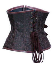 Women Sexy Steel Boned Steampunk Corset _ - Victorian Foundry