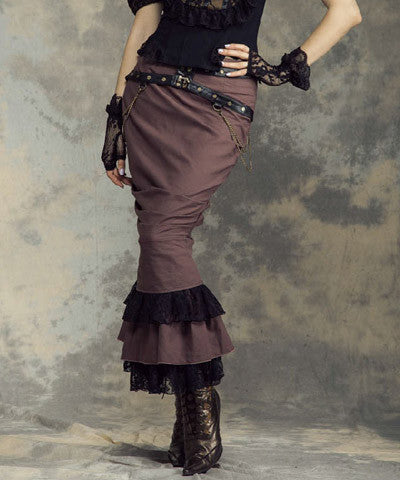 WIP Steampunk Womens Long Skirt - Victorian Foundry