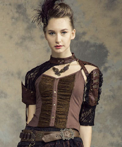 WIP Steampunk Women shirt top - Victorian Foundry