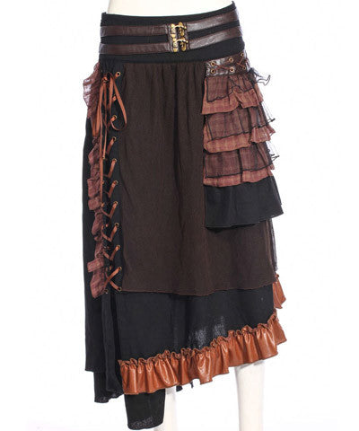 WIP Steampunk Womens Long Skirt pockets are on it - Victorian Foundry