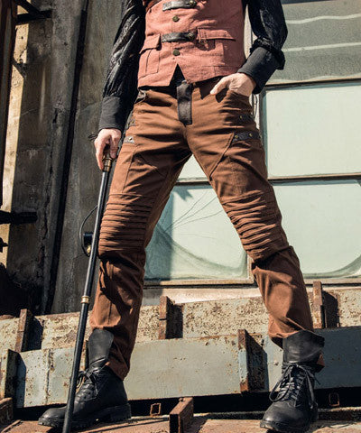 WIP Steampunk Pants for men - Victorian Foundry