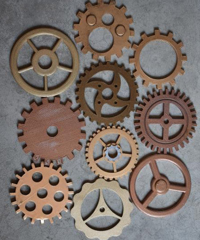 MASSIVE Large Steampunk Gears