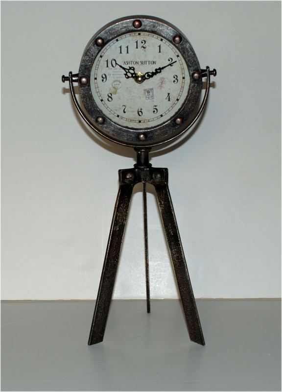 Victorian Tripod Table Clock - Victorian Foundry