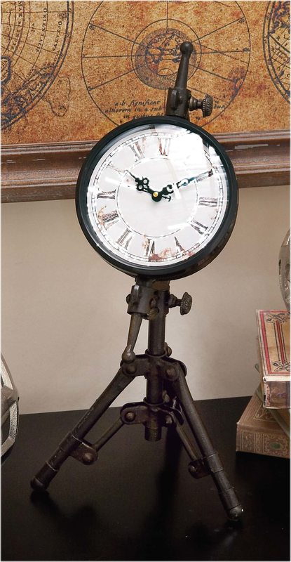 Victorian Table Clock - Victorian Foundry