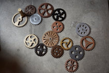 Giant Interlocking Turnable Steampunk Gears! Steam Punk Wall Escape Room Large Huge Gear Turning - Victorian Foundry