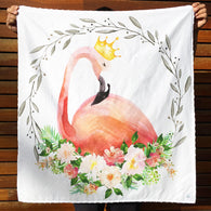 Baby Blanket - Flamingo