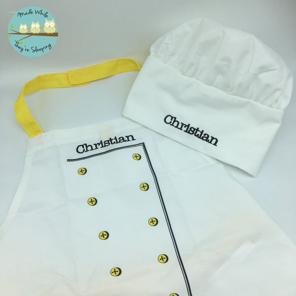 Personalised Child's Chef Set
