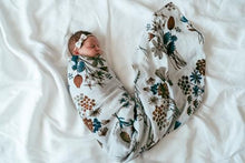 Load image into Gallery viewer, A Little Posy Muslin Swaddle