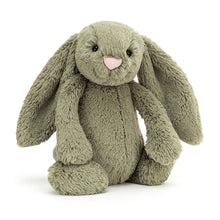 Load image into Gallery viewer, Personalised Jellycat Bashful Bunny - Fern