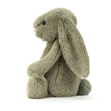 Load image into Gallery viewer, Personalised Jellycat Bashful Bunny - Fern side view