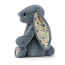 Load image into Gallery viewer, Personalised Jellycat Bashful Bunny - Dusky Blossom side view