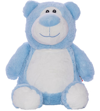 Personalised Blue Bear Cubby