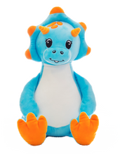 Load image into Gallery viewer, Personalised Dinosaur Blue - PRE ORDER