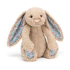 Personalised Jellycat Bashful Bunny - Beige Blossom