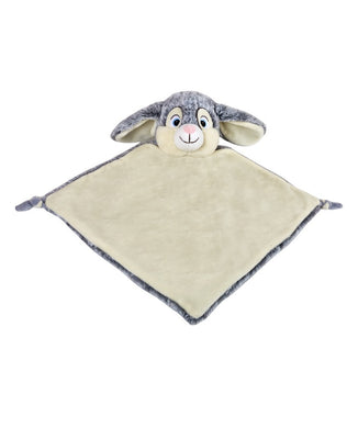 Personalised Grey Bunny Blankie comforter soother