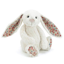 Load image into Gallery viewer, Personalised Jellycat Bashful Bunny - Cream Blossom