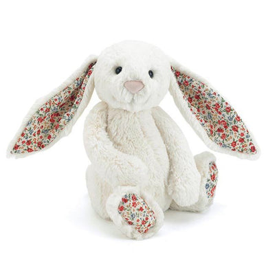 non personalised Jellycat Bashful Bunny Medium - Cream Blossom