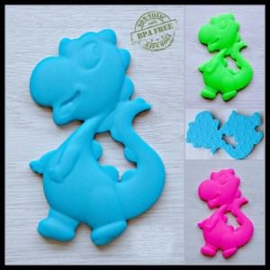 Silicone Dinosaur Teether