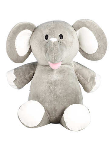 Personalised Grey Elephant Cubby