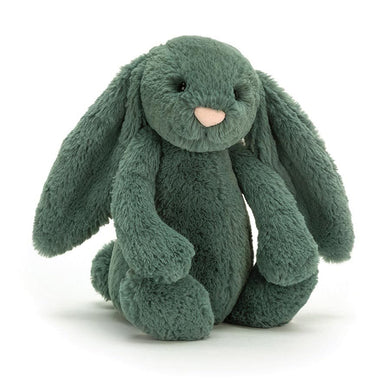 Personalised Jellycat Bashful Bunny - Forest