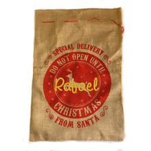 Load image into Gallery viewer, Personalised Santa Sack - Special Delivery
