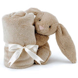 Personalised Jellycat Bashful Bunny - Blankie Soother