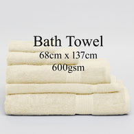 Personalised Bath Towel - IVORY