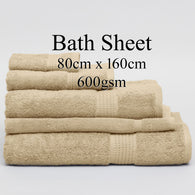 Personalised Bath Sheet - LINEN