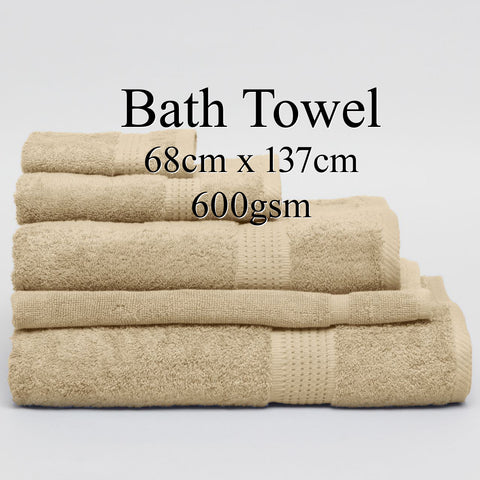 Personalised Bath Towel - LINEN