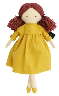 Personalised Alimrose Matilda Doll 45cm Butterscotch