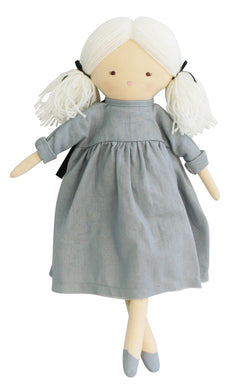 Personalised Alimrose Matilda Doll 45cm Grey