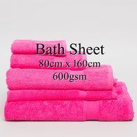 Personalised Bath Sheet - PINK