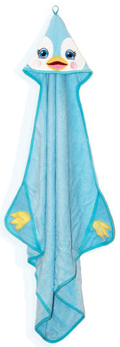 Personalised Hooded Penguin Towel