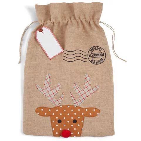 Personalised Santa Sack - Deer