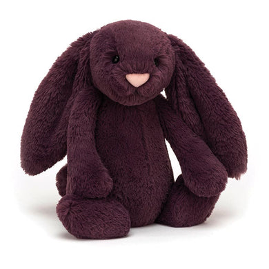 Personalised Jellycat Bashful Bunny - Plum
