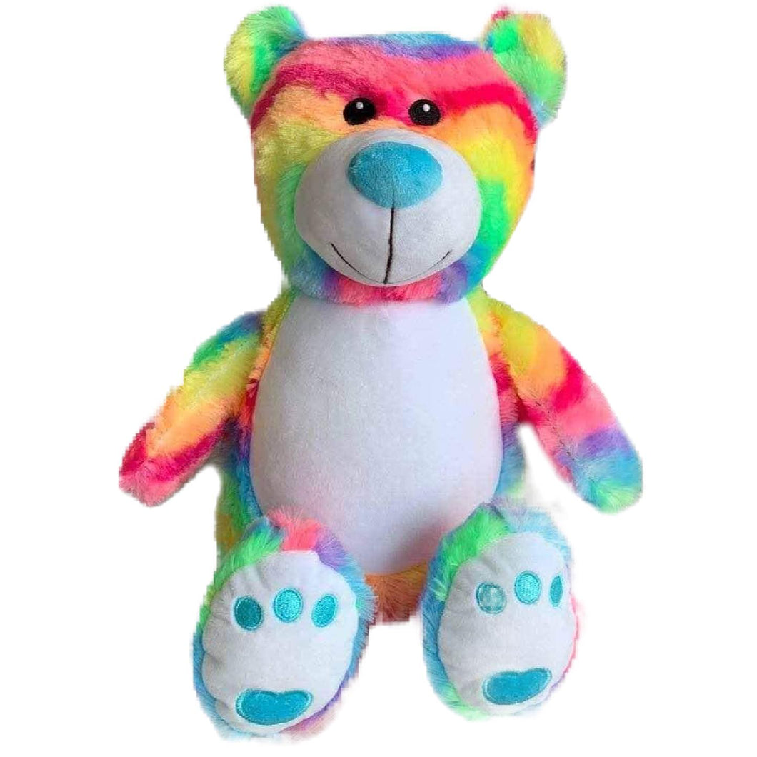 Personalised Bitsy Rainbow Bear