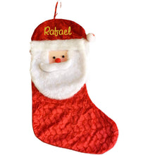 Load image into Gallery viewer, Personalised Christmas Stocking Large - Santa