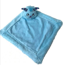 Load image into Gallery viewer, Personalised Blue Monster Blankie Comforter Soother