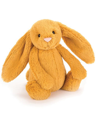 non personalised Jellycat Bashful Bunny Medium - Saffron