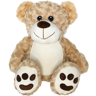 Personalised Tan Bear