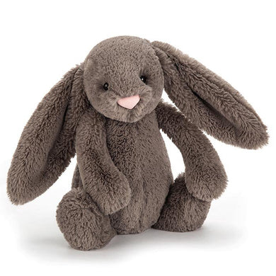 non personalised Jellycat Bashful Bunny Medium - Truffle