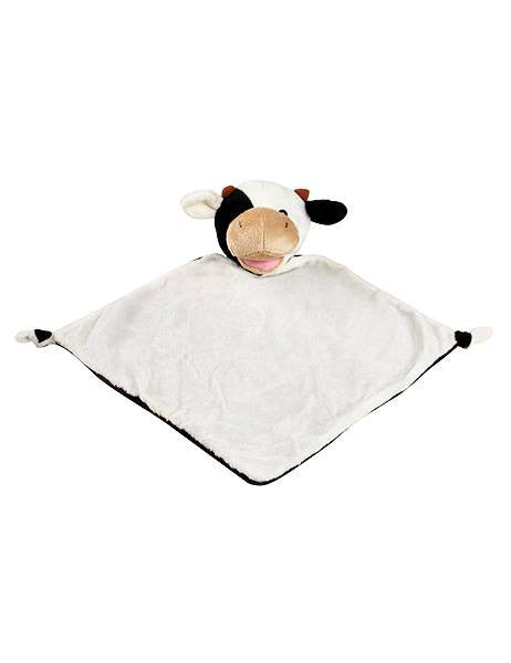 Personalised Cow Blankie comforter soother